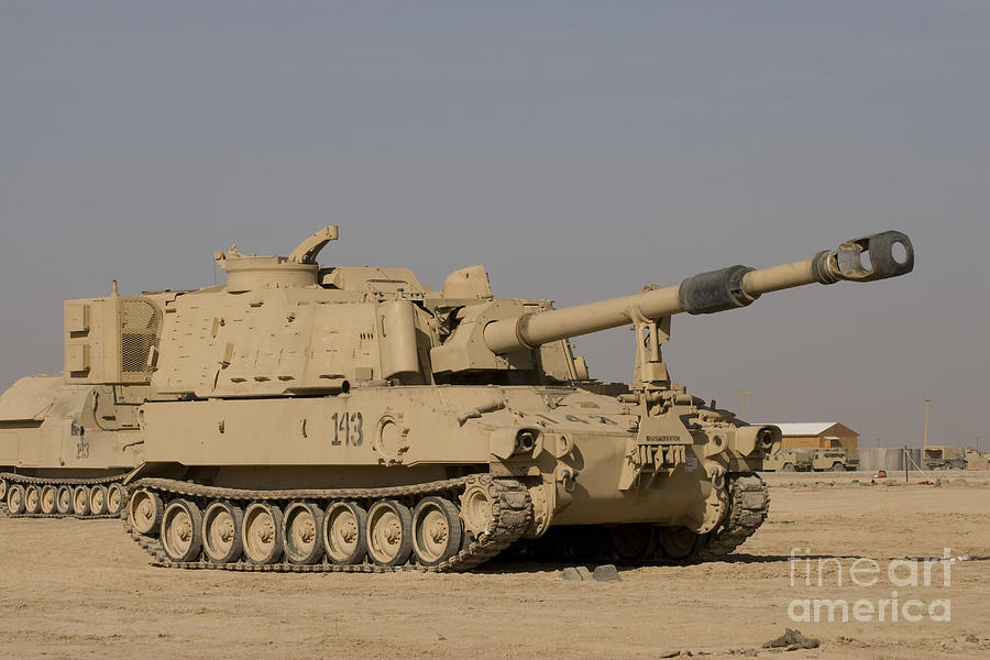 M109 Paladin, A Self-propelled 155mm Photograph