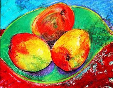 3 Mangoes Drawing