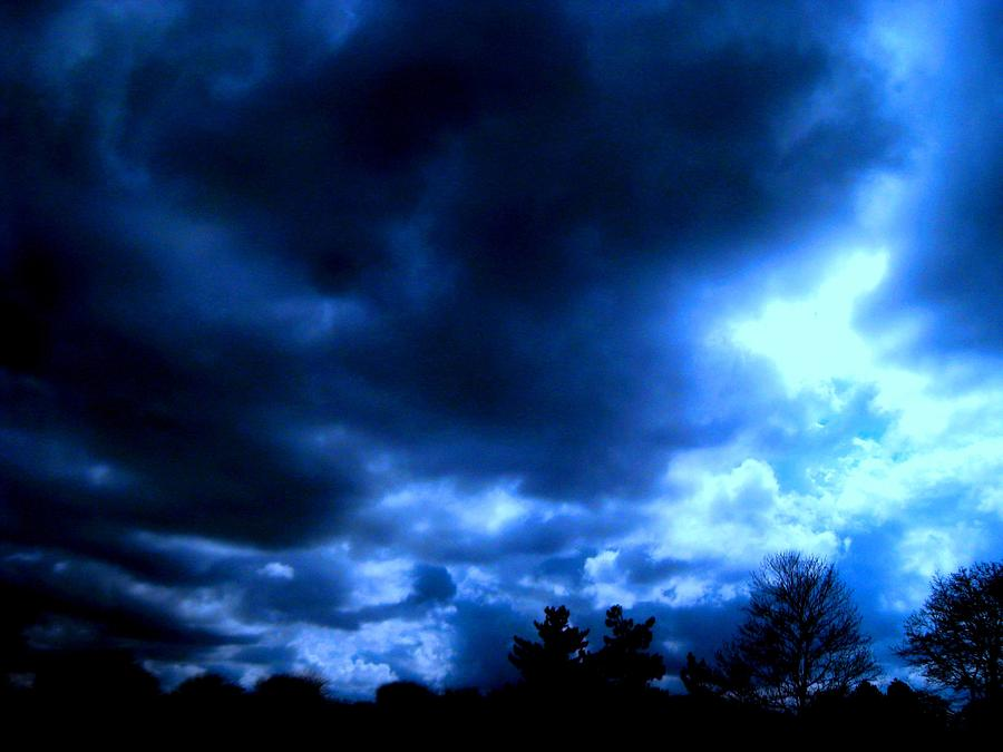 Moody Blues Photograph  - Moody Blues Fine Art Print
