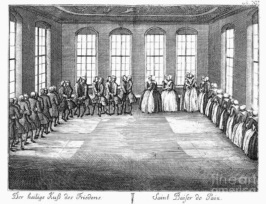 Moravians, 1757 Photograph