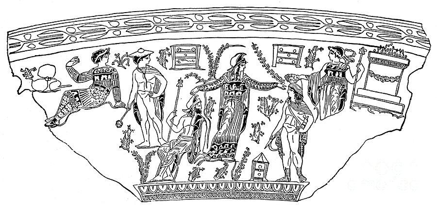 Andromeda Photograph - Mythology: Perseus by Granger