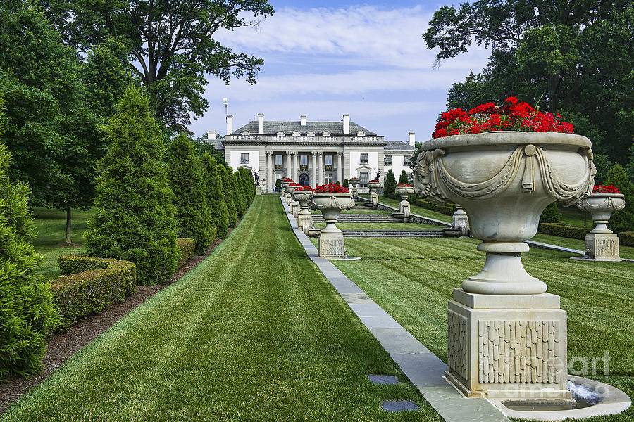 Nemours Mansion And Gardens Photograph By John Greim