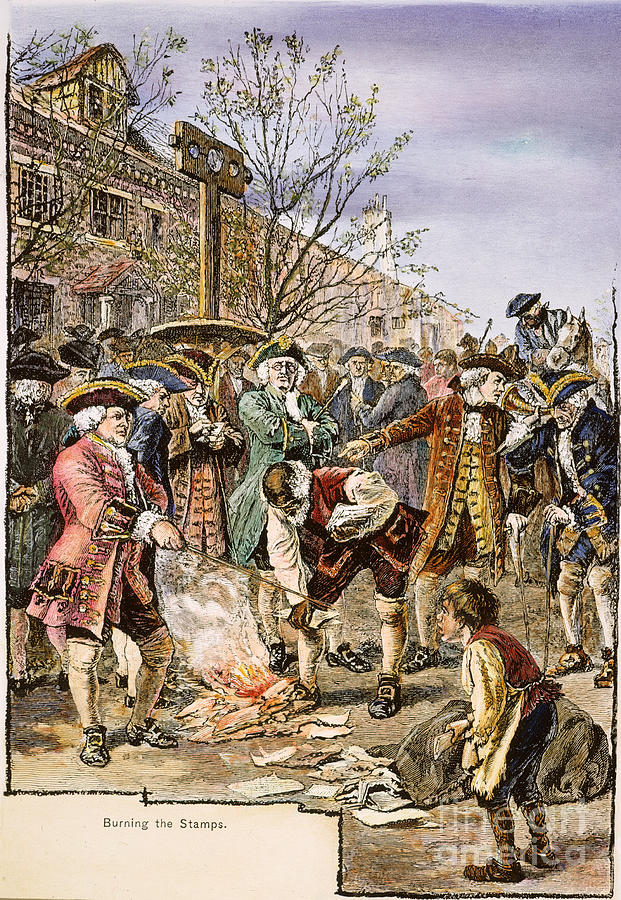 New york stamp act 1765 is a photograph by granger which was