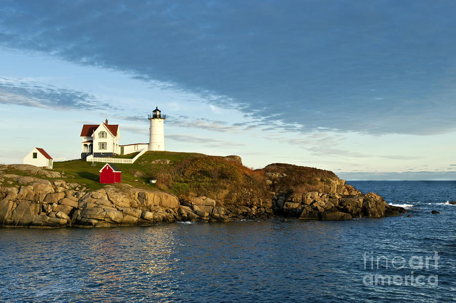 Nubble Light Photograph  - Nubble Light Fine Art Print