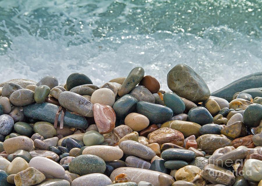 Ocean Stones Photograph