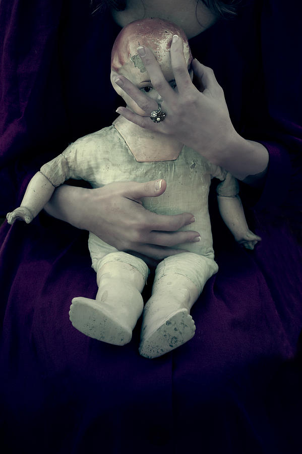 Woman Photograph - Old Doll by Joana Kruse