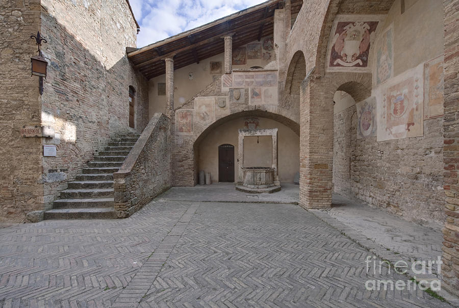 Architectural Photograph - Palazzo Comunale by Rob Tilley