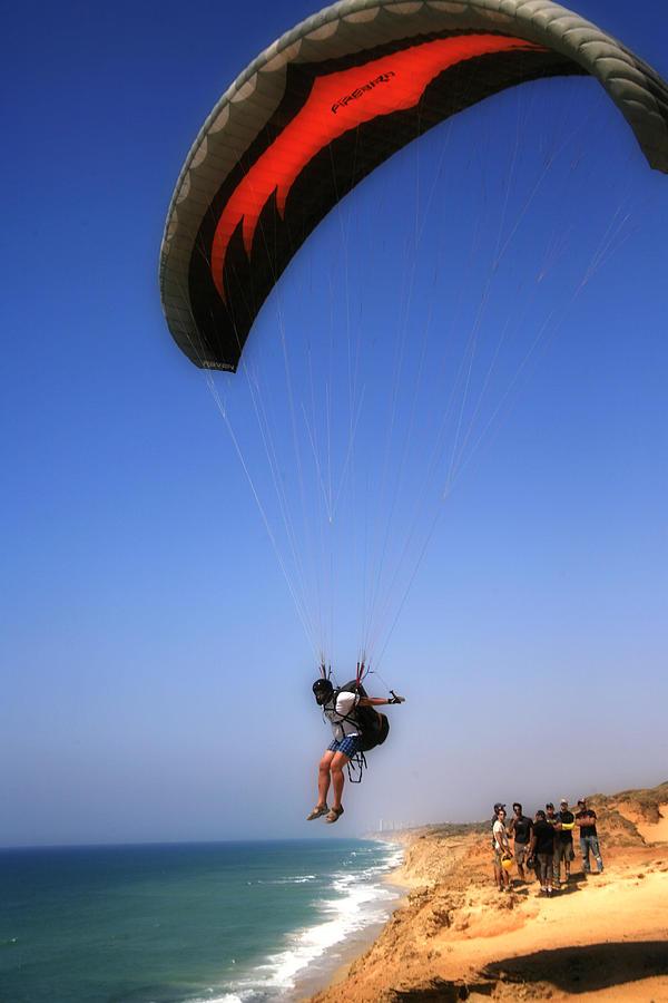 Parachute Gliders Photograph By Isaac Silman