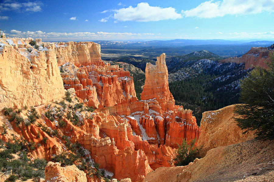 Paria Point In Bryce Canyon Photograph  - Paria Point In Bryce Canyon Fine Art Print