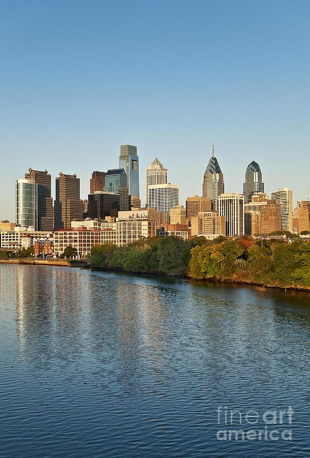 Philadelphia Skyline Photograph