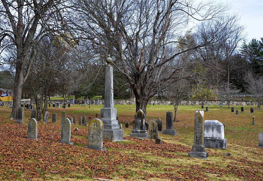 Pleasant Forest Cemetery Photograph - Pleasant Forest Cemetery by Paul Mashburn
