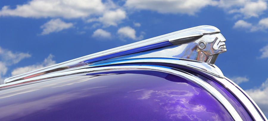 Pontiac Hood Ornament Photograph