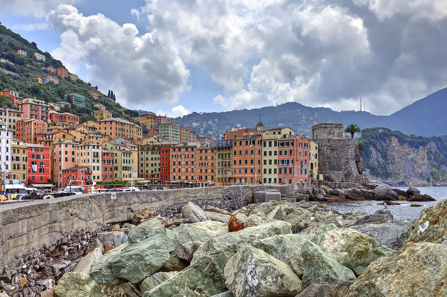 Camogli Photograph - Port Of Camogli by Joana Kruse