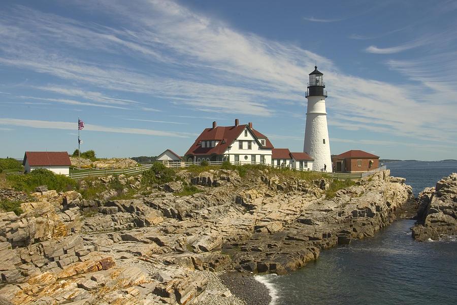 Portland Head Lighthouse Photograph