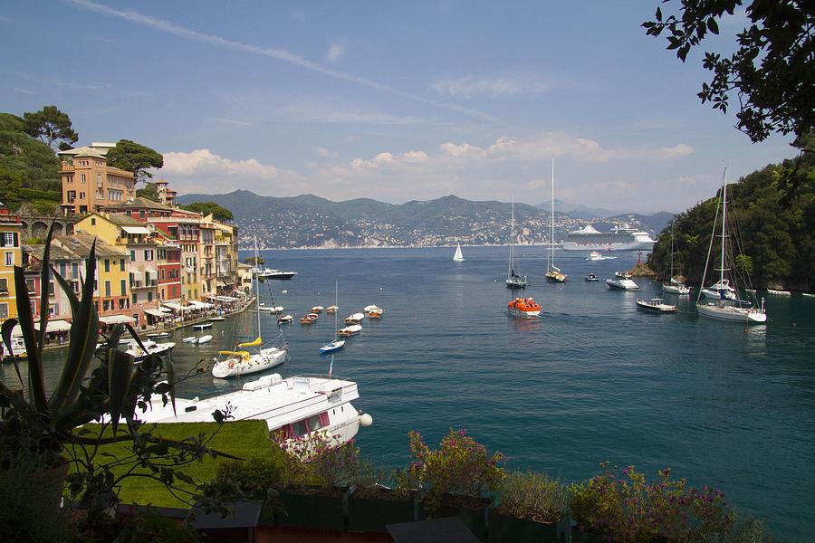 Portofino In The Italian Riviera In Liguria Italy Photograph