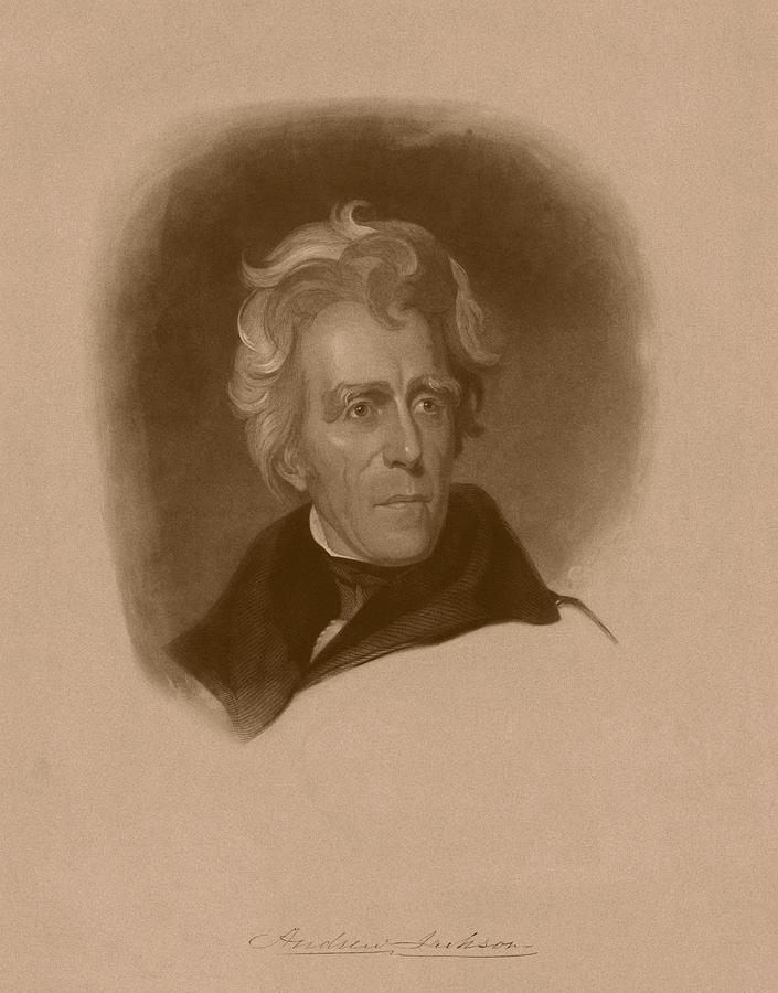 President Andrew Jackson Drawing