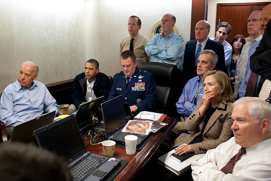 President Barack Obama And Vice Photograph