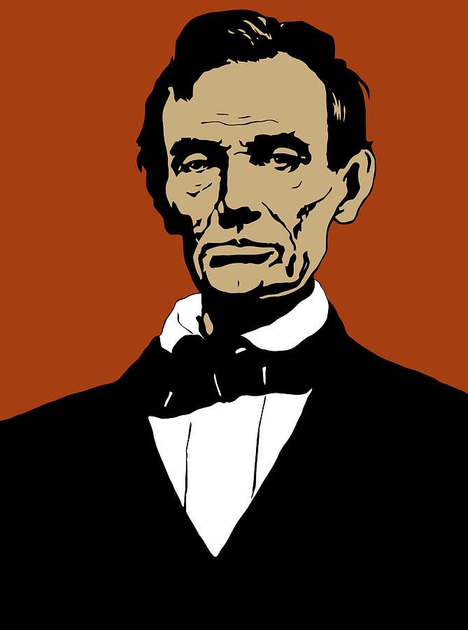 President Lincoln Digital Art