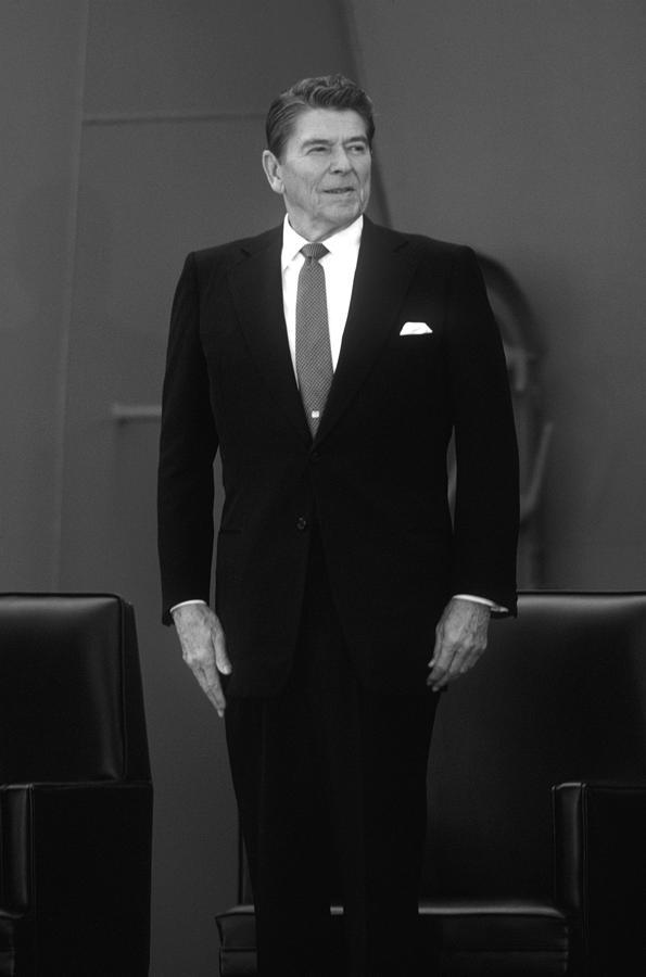 President Ronald Reagan Photograph