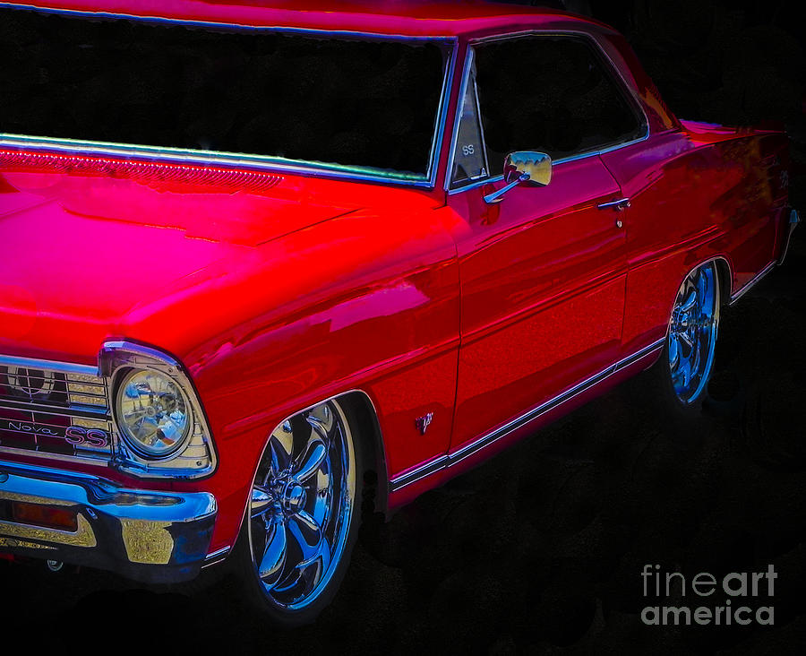 Real Red Nova Ss Photograph  - Real Red Nova Ss Fine Art Print