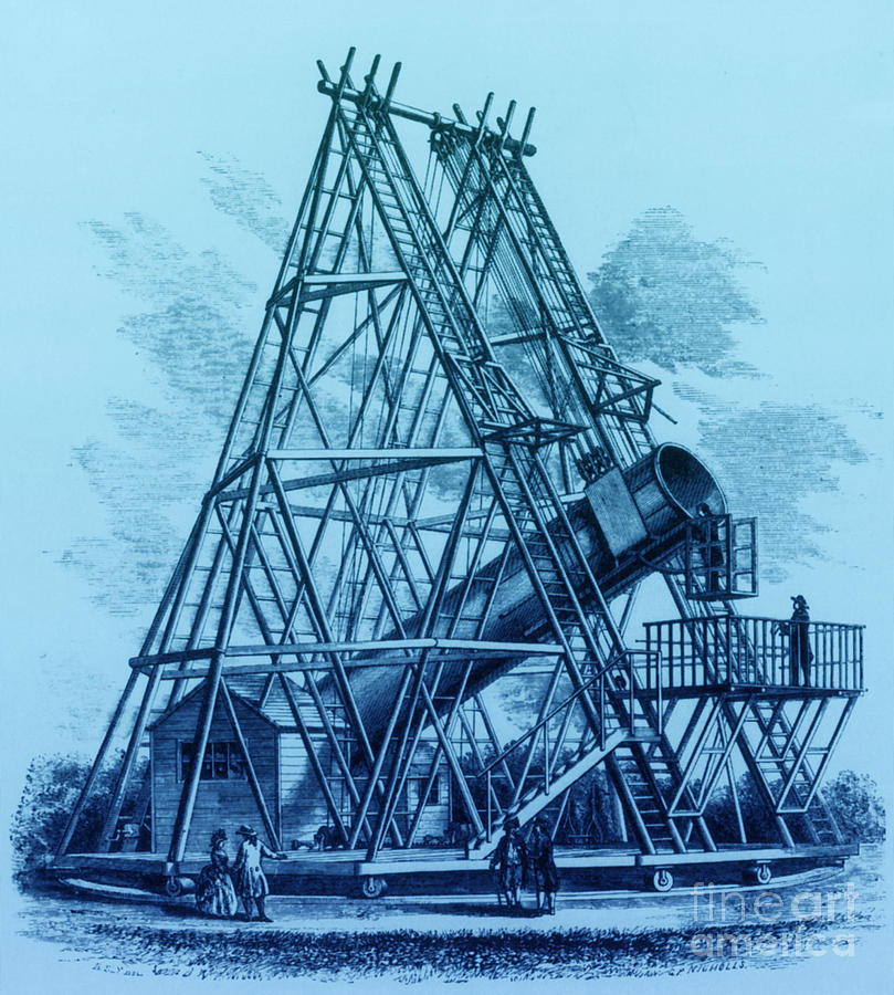Reflecting Telescope, 1789 Photograph