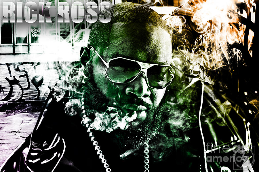 Rick Ross Digital Art