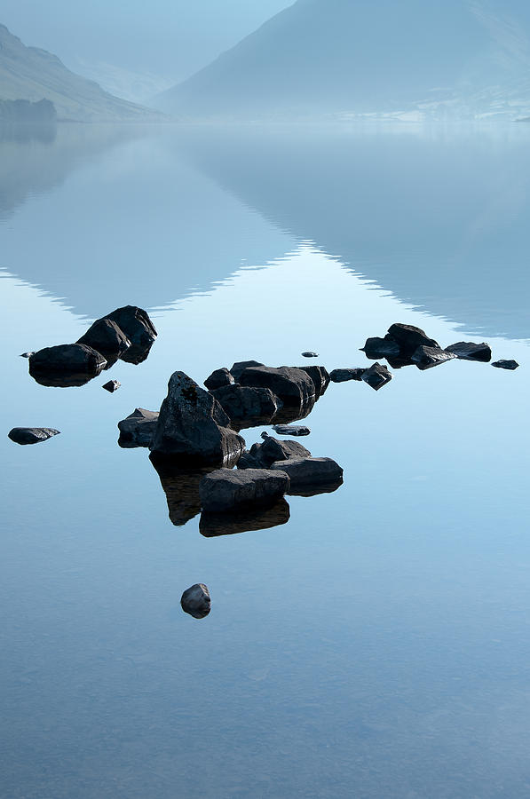 Bay Photograph - Rocks by Svetlana Sewell