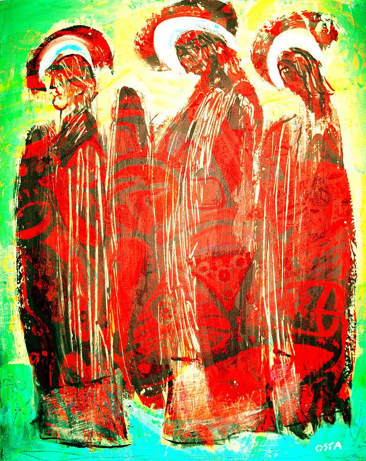 3 Saints Painting