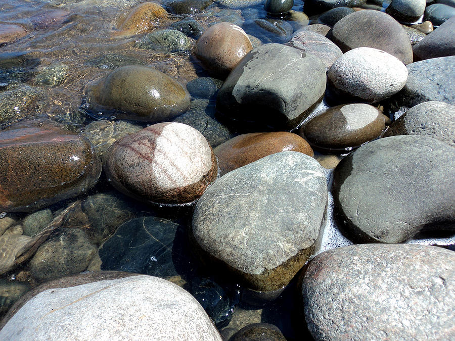 Sauble Pebbles Photograph