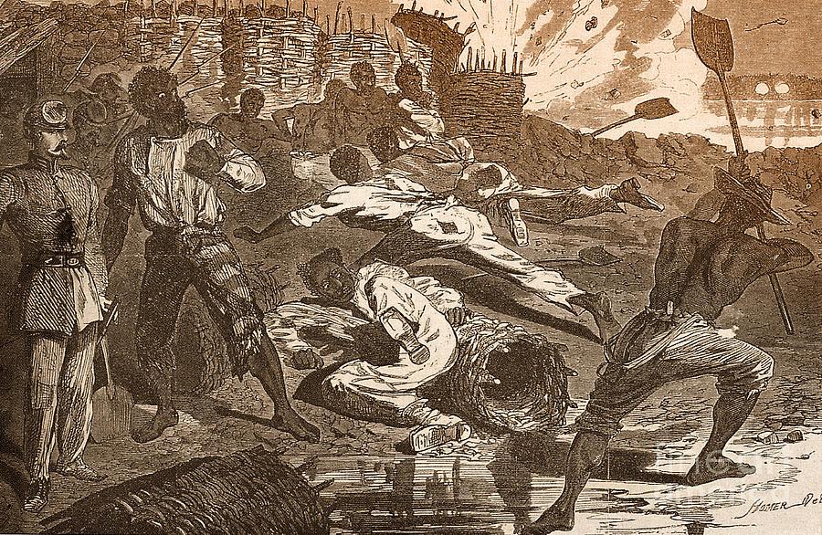Siege Of Vicksburg, 1863 Photograph