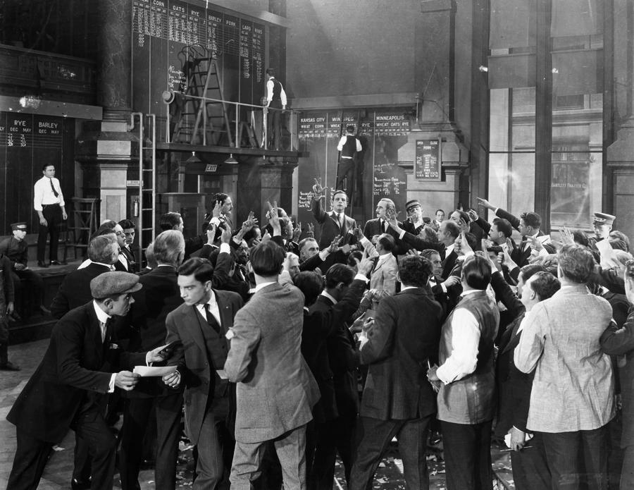 Silent Film Still: Crowds Photograph