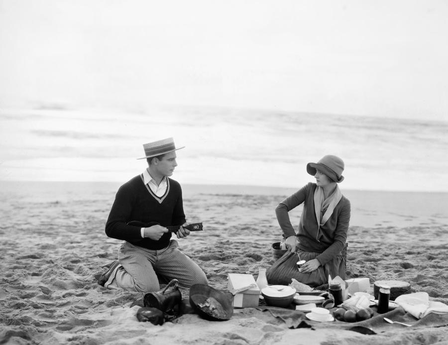 Silent Film Still: Picnic Photograph