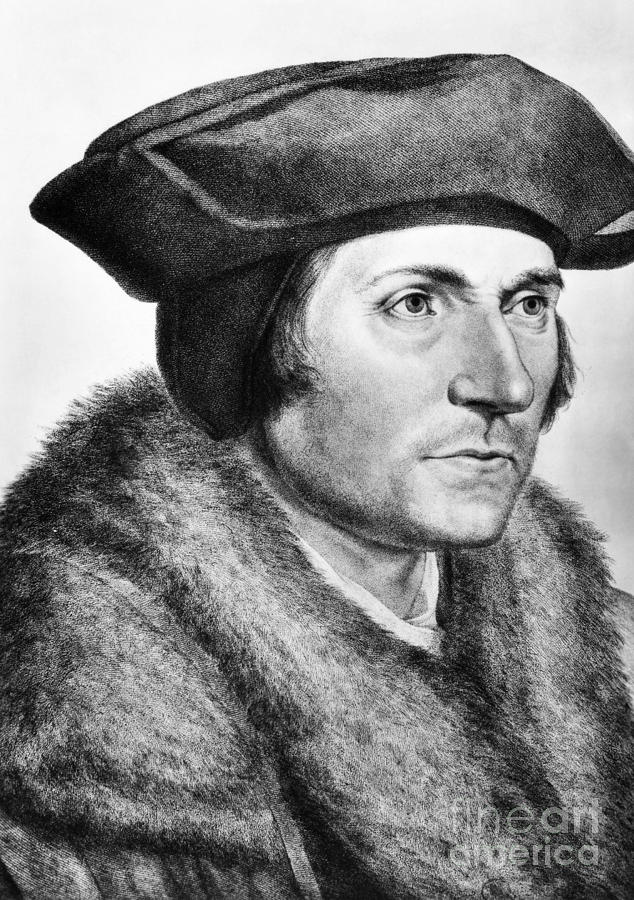 Sir Thomas More (1478-1535) Photograph  - Sir Thomas More (1478-1535) Fine Art Print