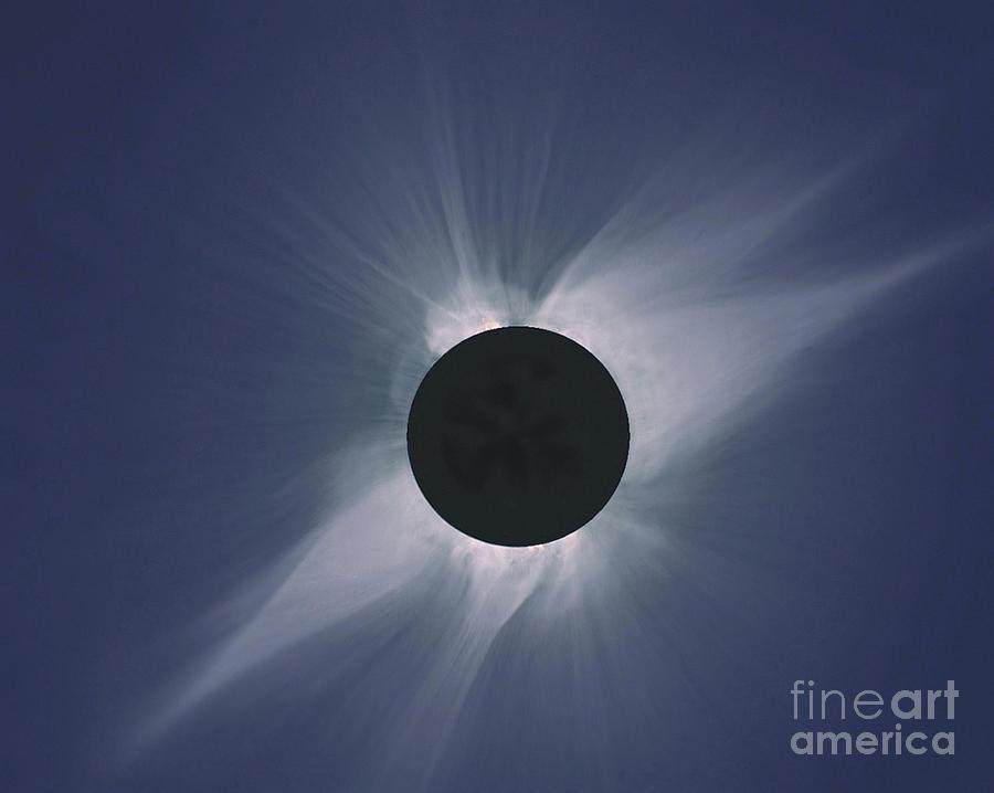 Solar Eclipse Photograph - Solar Eclipse by Nasa