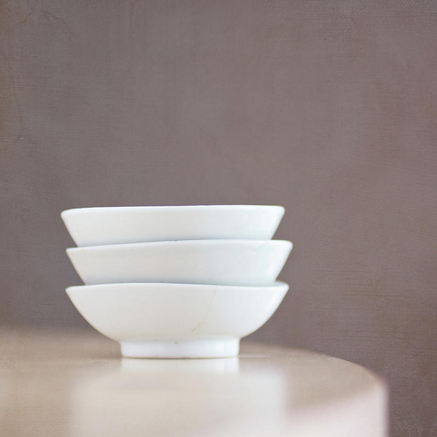 3 Stacked Bowls Photograph