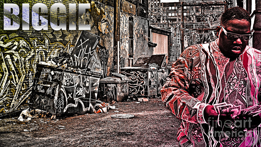 Street Phenomenon Biggie Digital Art