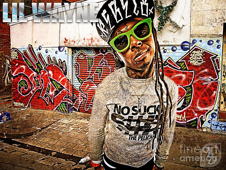 Street Phenomenon Lil Wayne Digital Art