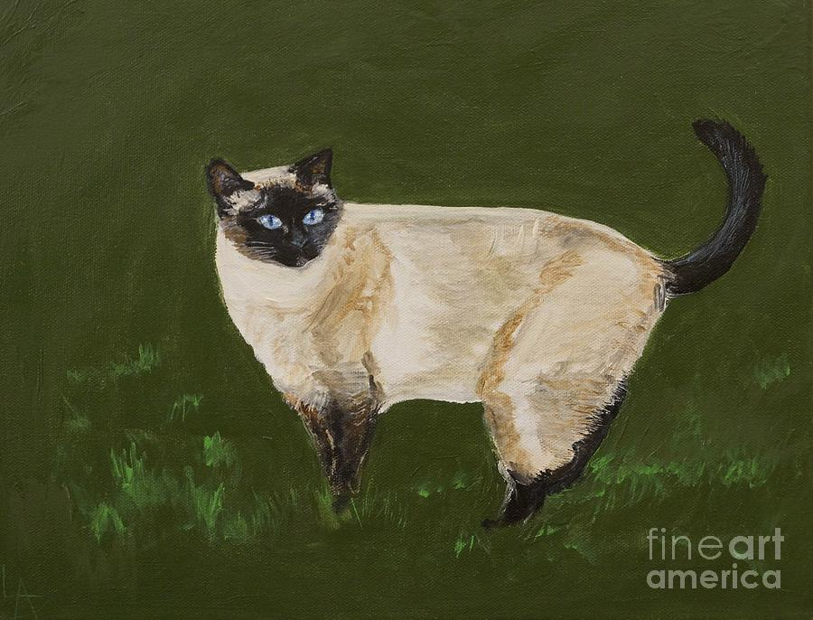 Sweetest Siamese Painting