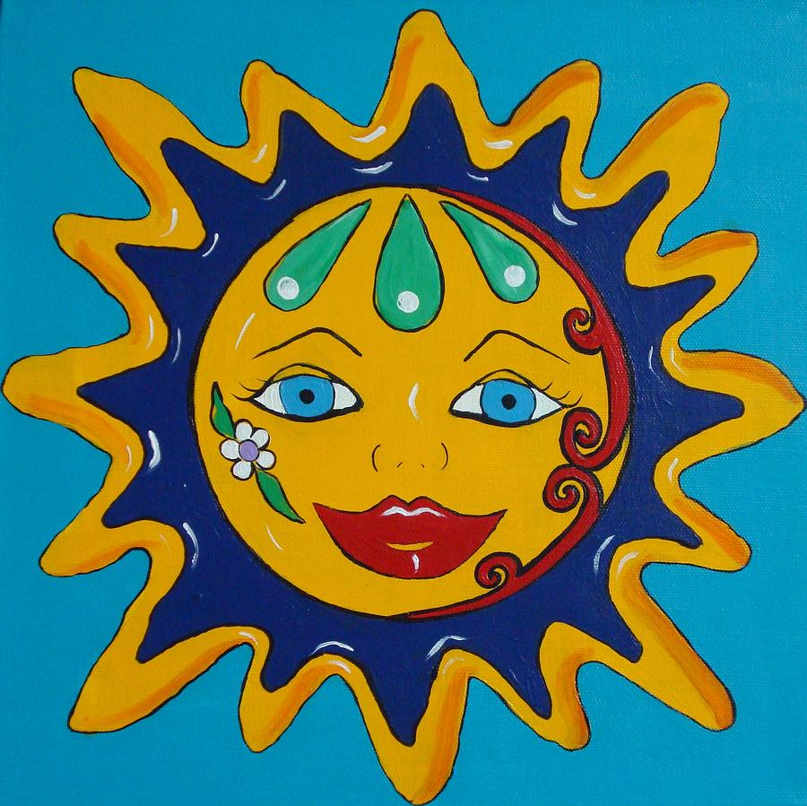 Displaying 19> Images For - Mexican Sun Art...