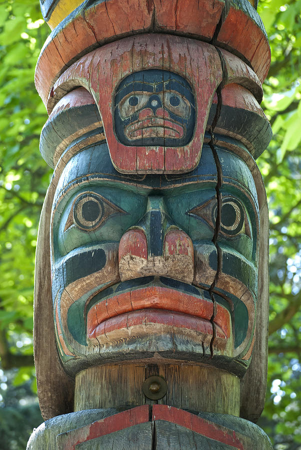 Totem Pole Photograph