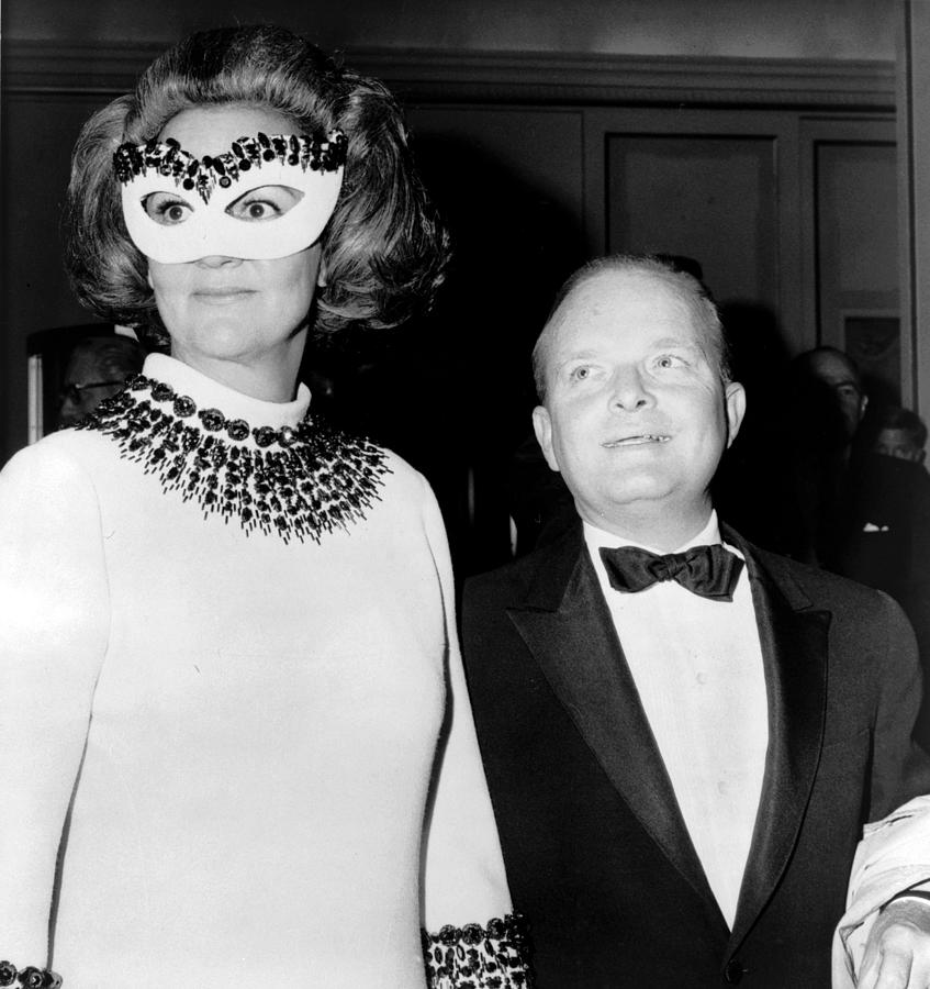 2008-2 Photograph - Truman Capote 1924-1984, Southern by Everett