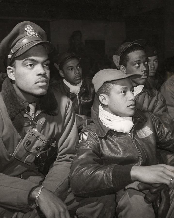 Tuskegee Airmen, 1945 Photograph