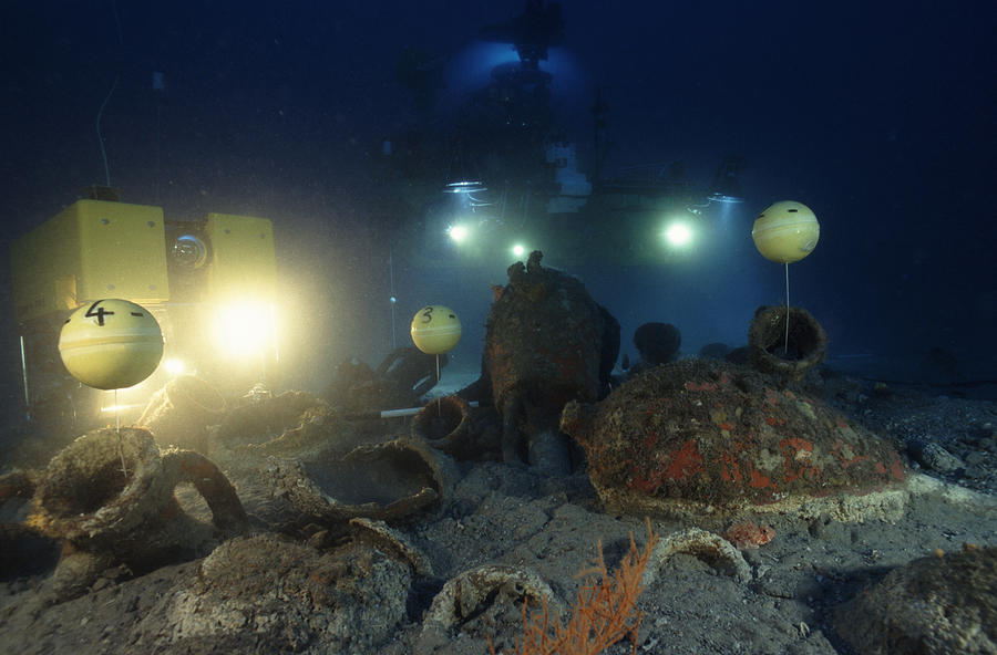 Underwater Archaeology is a photograph by Alexis Rosenfeld which was ...