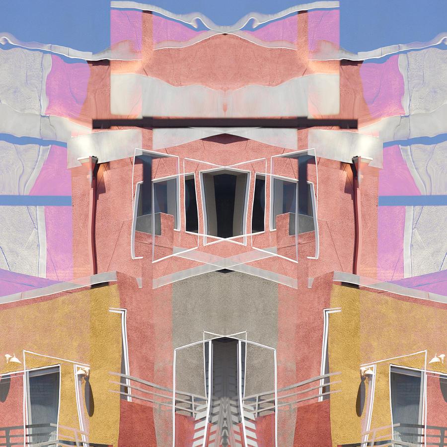 Urban Abstract San Diego Photograph