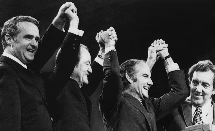 Us Elections. From Left Us Senator Photograph