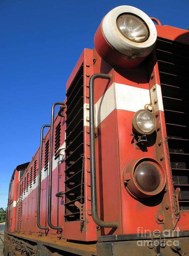 Vintage Diesel Engine Photograph