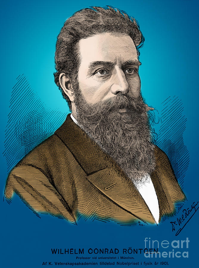 Wilhelm Roentgen, German Physicist Photograph  - Wilhelm Roentgen, German Physicist Fine Art Print