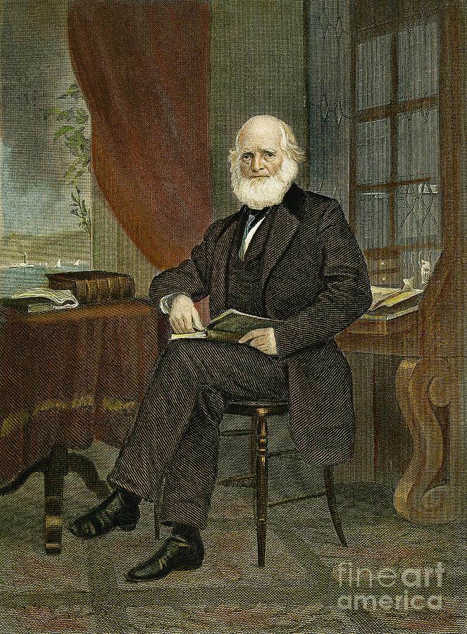 William Cullen Bryant Photograph