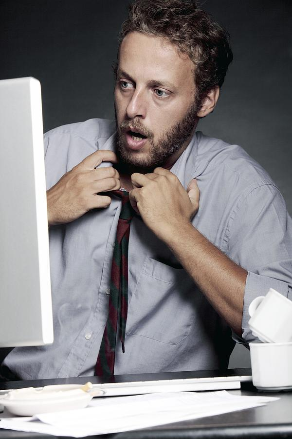 Work Stress Photograph