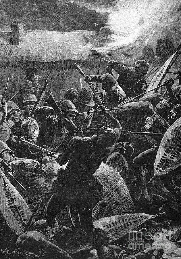 1879 Photograph - Zulu War, 1879 by Granger